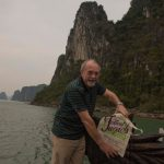 Ken Fitch at Halong Bay